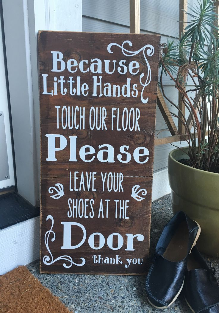 This fantastic sign says it all! These are hand painted, sanded and made from new or re-claimed wood right here in the heartland of America, then the vinyl wording and top seal coat is applied by our