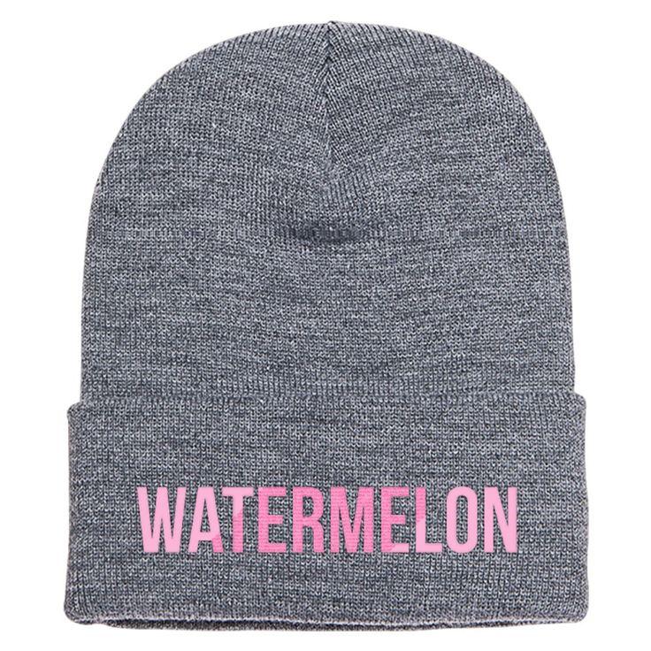 Watermelon Beyonce Knit Cap