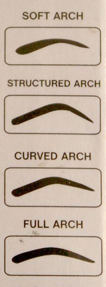 Eyebrow shapes