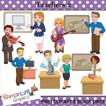 17 Best ideas about Teacher Clip Art on Pinterest | Border ...