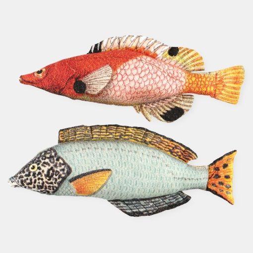 Digitalprint - Fish 2 pcs - Stoff & Stil