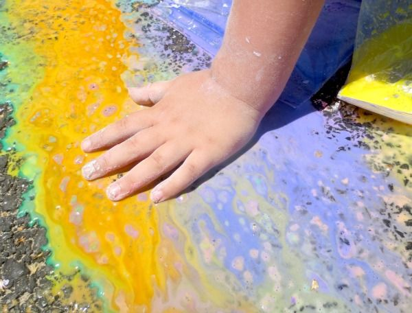 Play Recipe- Sidewalk Chalk | Growing A Jeweled Rose