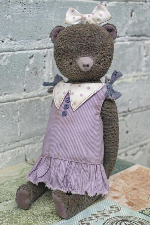 OOAK artist teddy bear collectible bear plush teddy bear