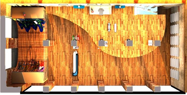 Render - SkateShop     3ds max