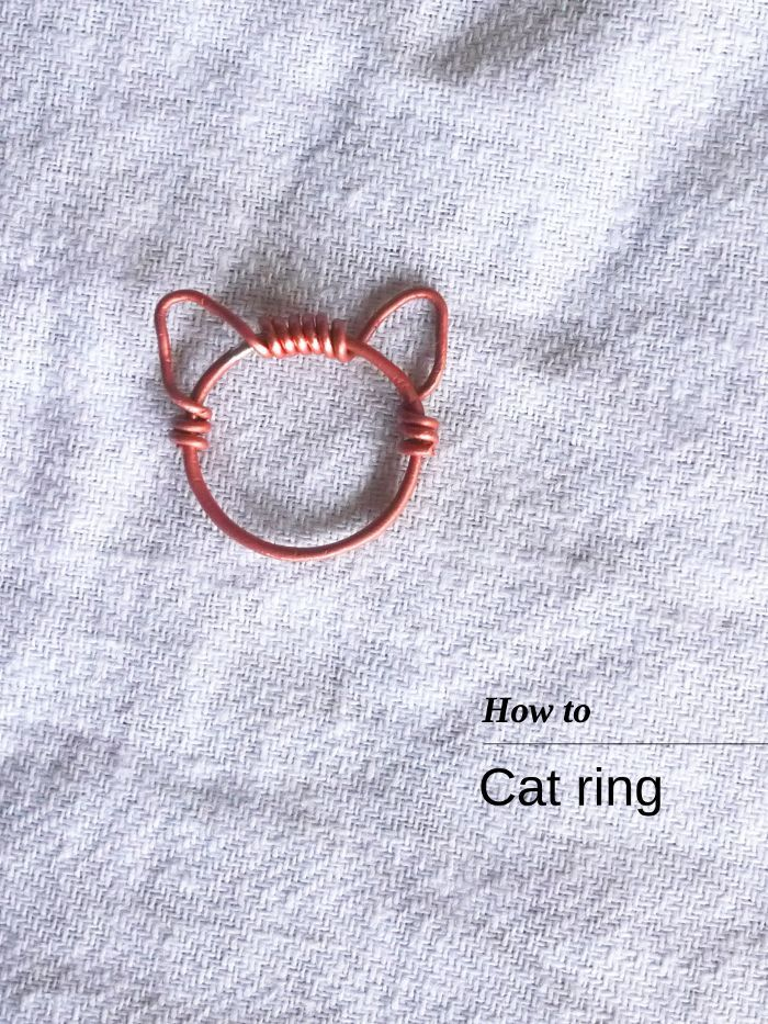 How to make a Cat ring 2