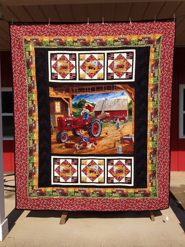 Quilt And Things Farmall Super C Queen-size Quilt | Things To Do