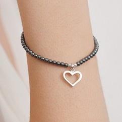 Sterling silver charm bracelets, @ Annie Haak
