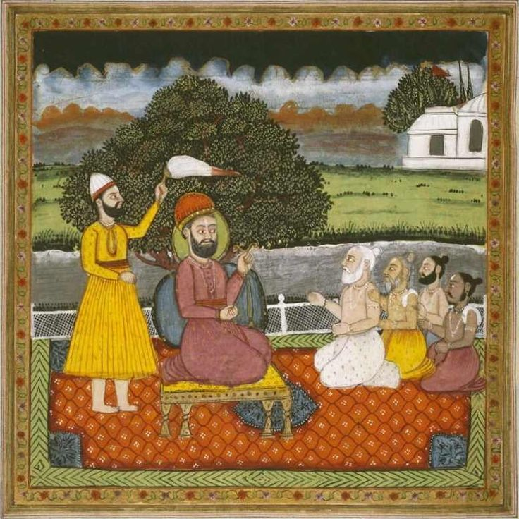 Guru.Nanak.with.Hindu.holymen-b - Sikhism - Wikipedia