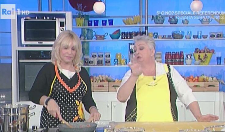 """La dieta di Alessandra Spisni, celebre sfoglina che vediamo ne """"La prova del cuoco"""" con la Clerici, è a cura della dottoressa Flachi."""
