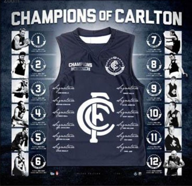 All of the Carlton great players in one place