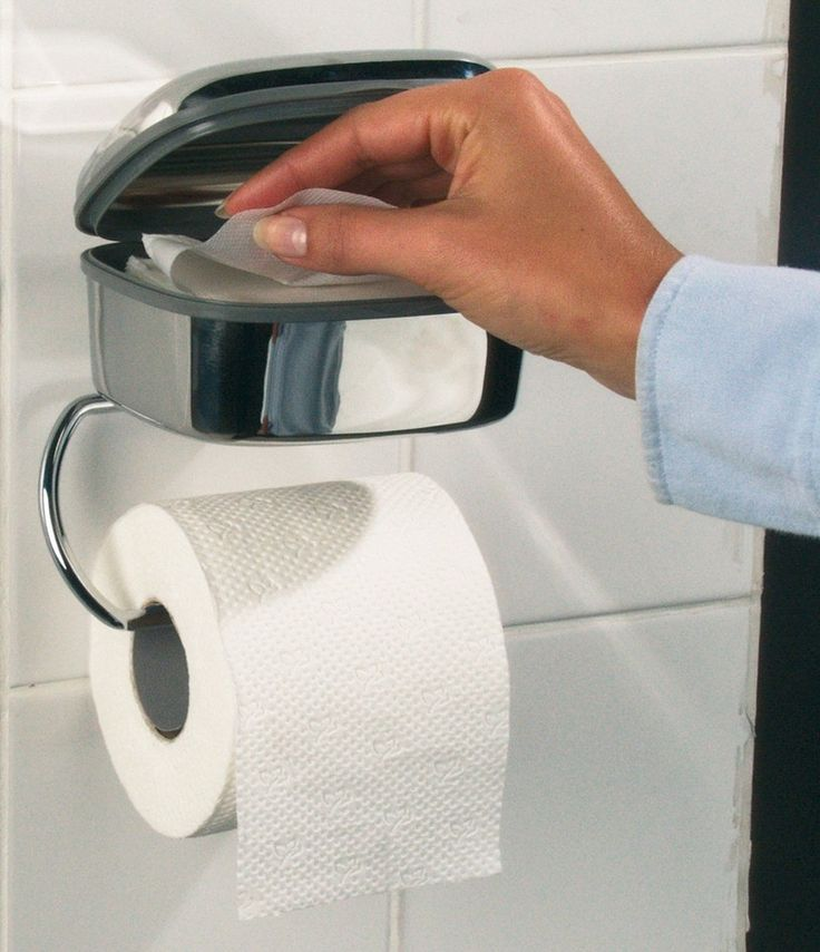 Tiger diversen toiletrolhouder Combi, rvs geborsteld - 441230941   badkamerwinkel.nl