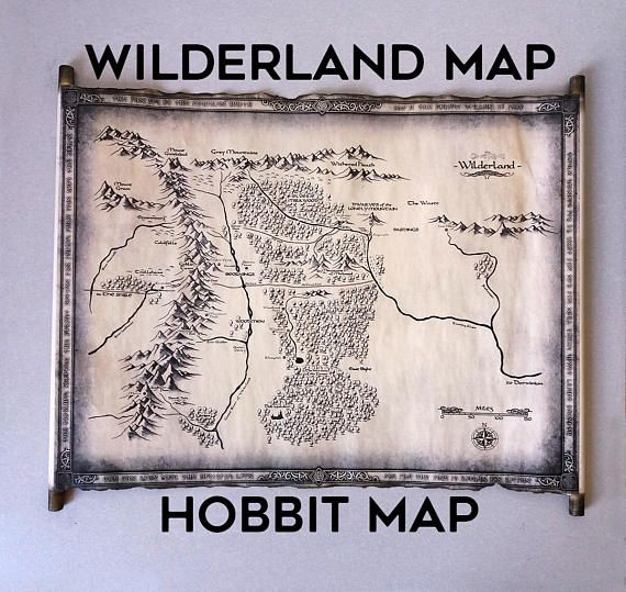 14 best Map Of Middle Earth Scroll Lord Of The Rings Map The