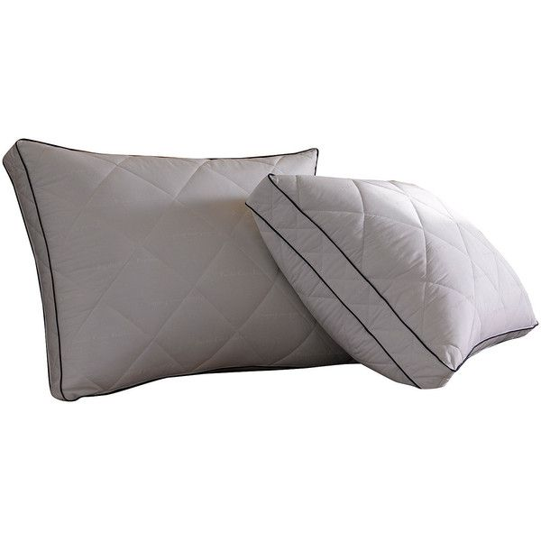 "Pacific Coast Quilted Resilia"" Feather Pillow ($65) ❤ liked on Polyvore featuring home, bed & bath, bedding, bed pillows, filler, king size feather pillows, king feather pillow, king size bed pillows, king bed pillows and pacific coast feather company"