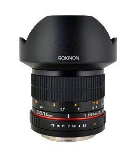 Rokinon FE14M-C 14mm F2.8 Ultra Wide Lens for Canon (Black) Rokinon $297.00