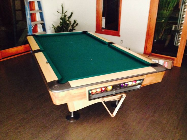 Fully Restored Brunswick Gold Crown 4 With Ball Return