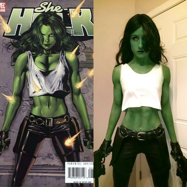 Badass She-Hulk cosplay, by Chelsea Reese! (Real muscle, courtesy of bodybuilding)  #marvel