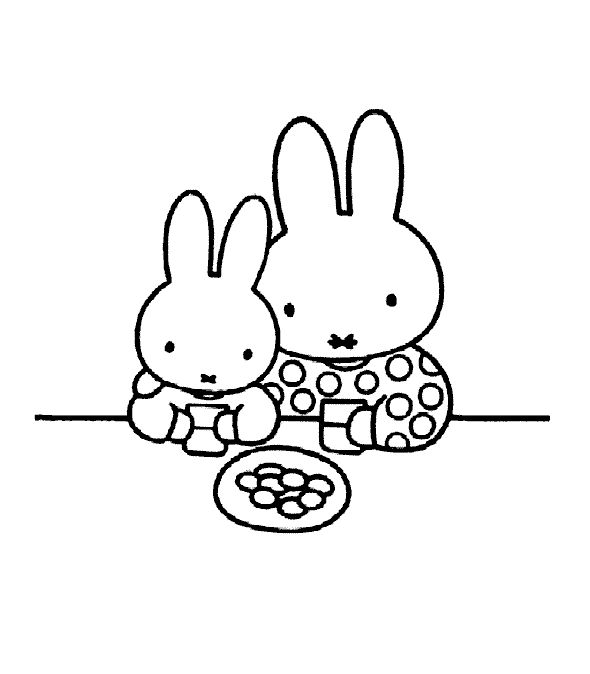Miffy Drink Together