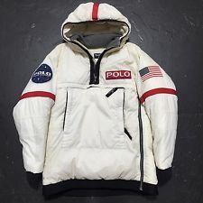 Rare Vintage Polo Jeans Co Ralph Lauren Jacket NASA Space Astronaut Original 90s