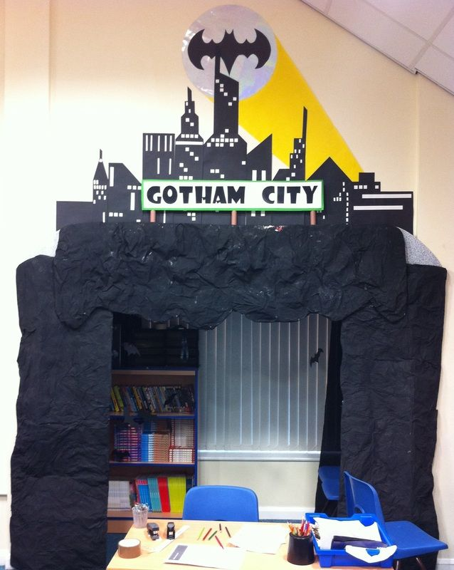 Bat cave reading area