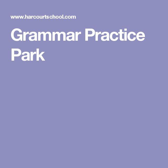 Grammar Practice Park