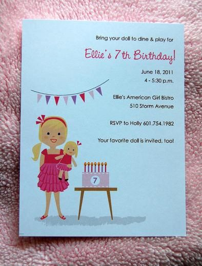 "Photo 1 of 18: American Girl / Birthday ""Ellie's American Girl Bistro"" 