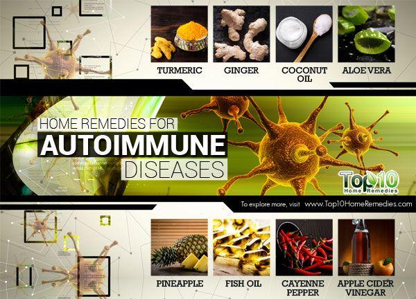 Top 10 Home Remedies for Autoimmune Diseases. Natural Health. Natural Healing.