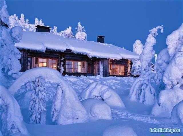 Идеальное путешествие: Коттеджи в Финляндии на Новый год
