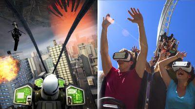 ParcPlaza.net: La réalité virtuelle fait son arrivée sur les montagnes russes des parcs Six Flags