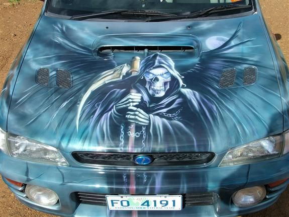 Airbrush Cars Gallery Google Search Airbrush Art