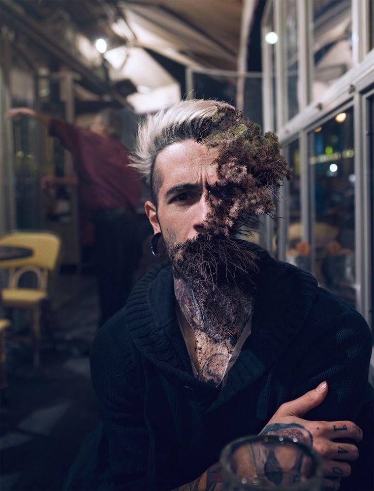 Photographer Creates Eye-Catching Organic Portraits Using Plant Life | Fstoppers