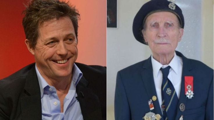 "Hugh Grant offers £1,000 for the ""safe return"" of blind WW2 veteran Alfred Barlow's medals."
