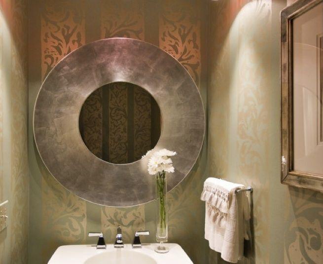 Espejos originales para la decoraci n del ba o iii for Espejos originales
