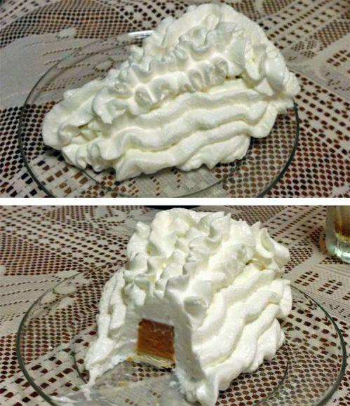 How my hubs eats pumpkin pie.