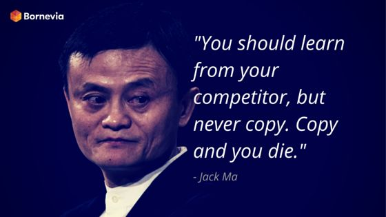 Never copy! #learn #copy #competitor #business #competition