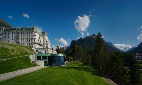 Grand Hotel Kronenhof Pontresina Engadine - 5 Star Hotel Switzerland