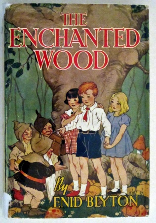 The Enchanted Wood, 1949 with dust jacket. Brilliant story.