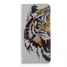 Huawei Honor 8 Lite tiikeri puhelinlompakko.