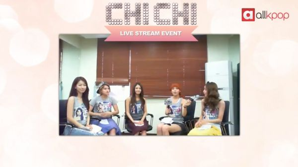 RELIVE IT: Exclusive CHI CHI Live Stream on allkpop!: Exclusively Chi, Chi Living, Week Chi Chi, T'Ai Chi Ch'Uan