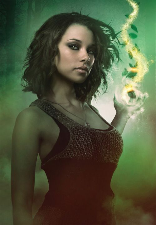Melissa Glaser (Jessica Parker Kennedy) from The Secret Circle