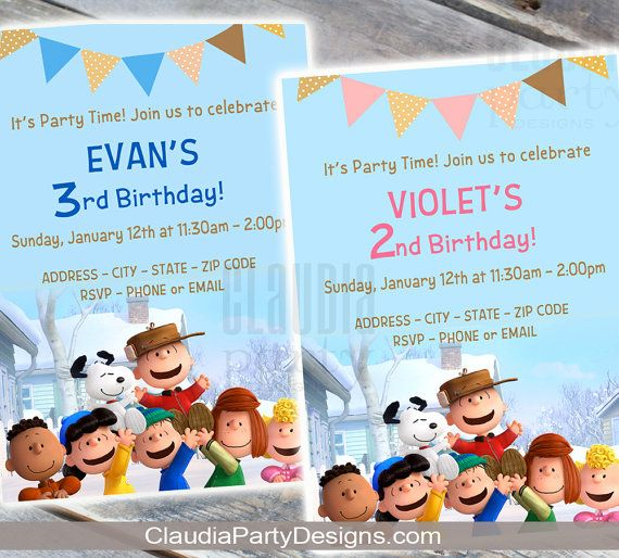 317 best Snoopy party images – Snoopy Party Invitations