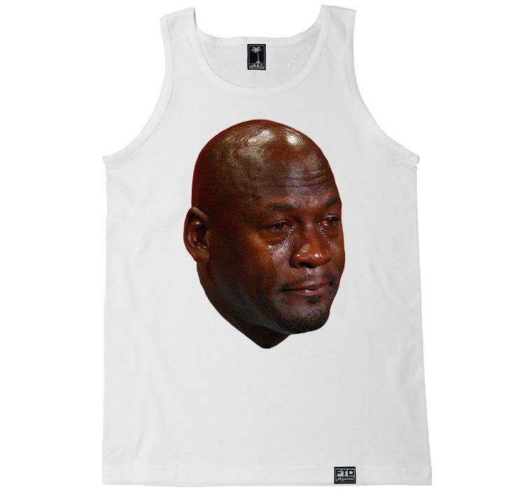 Men's MJ CRYING FACE Tank Top