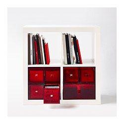 LEKMAN Mini-Kommode, rot - 33x25 cm - IKEA