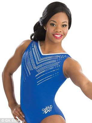 Simone Biles also has her own collection of colorful and patriotic pieces