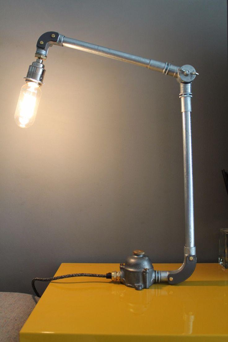 Conduit Desk Lamp