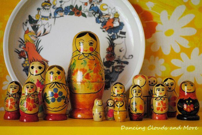 Matryoshka / Babushka / Russian Dolls.