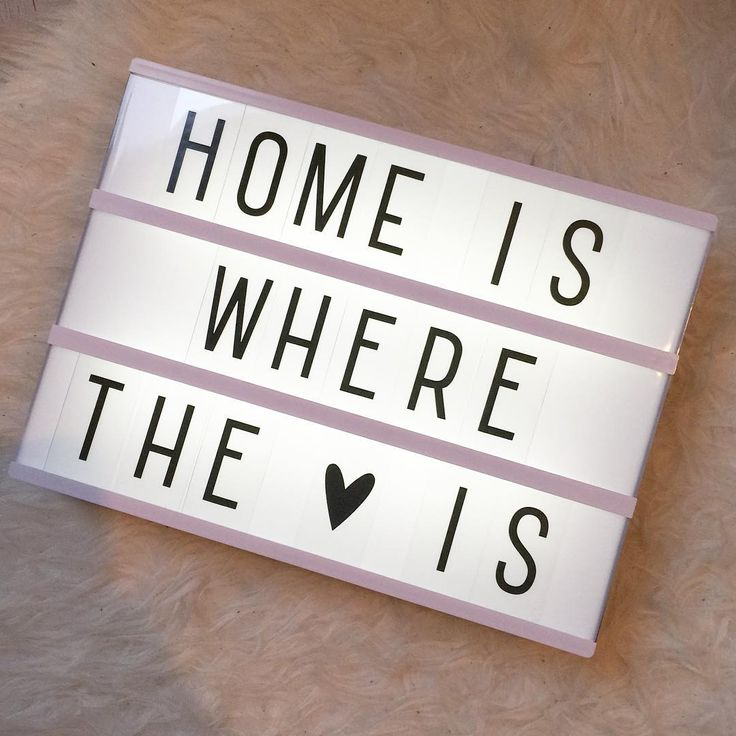 Sundays at home! #home #quote #lightbox #littlelovelylightbox