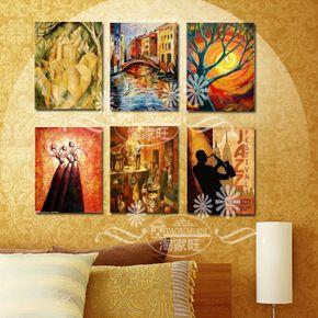 Специальные Спайк рамки картины журнальный зал фрески старинные столовая подвесной наборы для рисования квартира современная декоративная живопись Бесплатная доставка-Таобао мировой станции