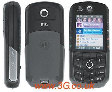 Vodafone and 3 Motorola 3G Handsets for UK Confirmed