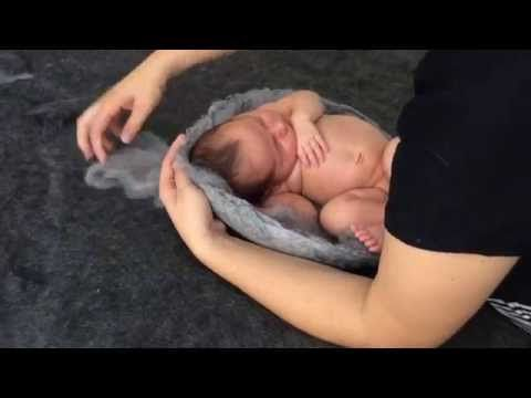 Creating a potential award print. Newborn photography tutorial from concept to print.