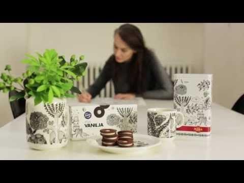 Juhla Mokka -kahvirasia 2015 kuvitus vie piilopaikkaan - YouTube